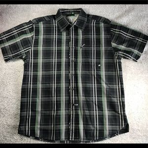 Ecko Unlimited Plaid Button Up Shirt